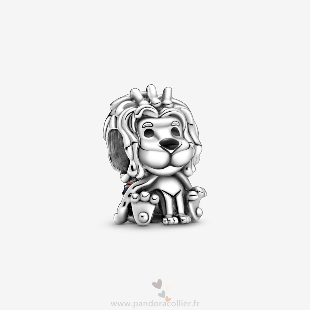 Promotionnel Pandora Charm Union Jack Lion
