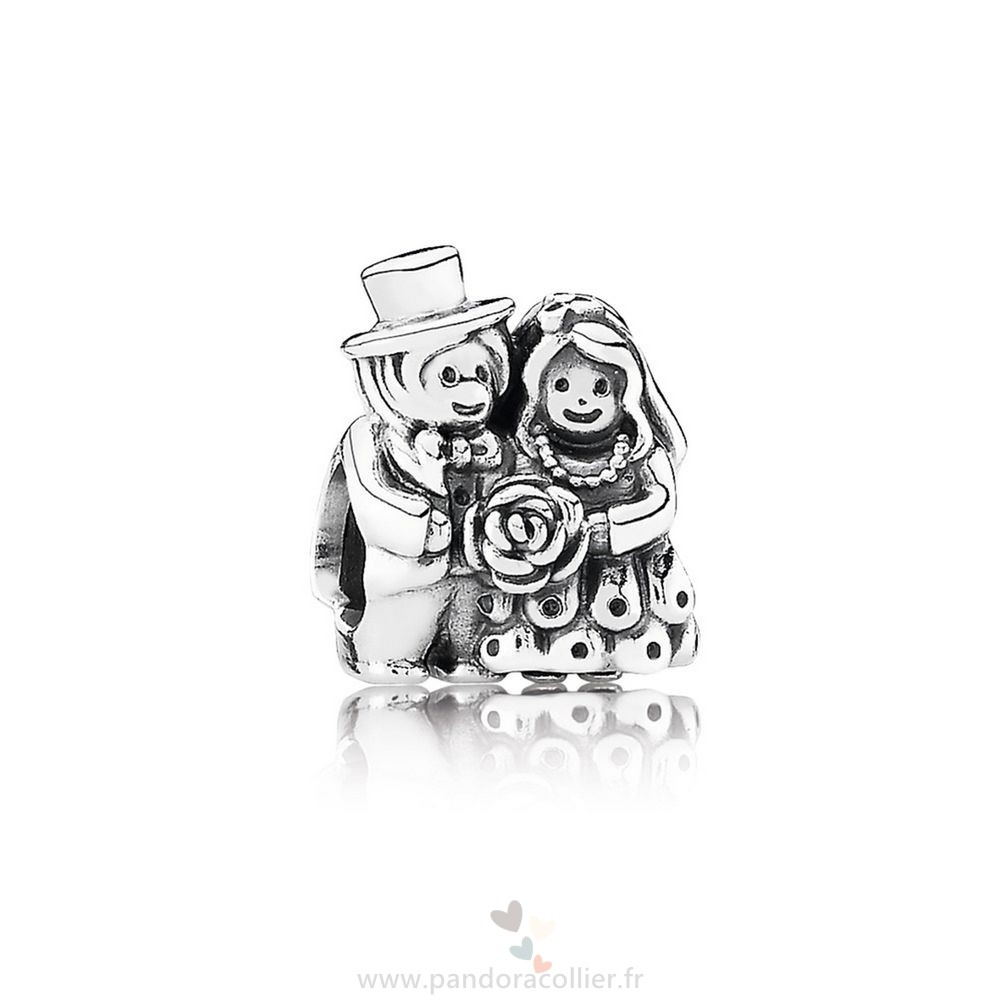 Promotionnel Pandora Mariage Anniversaire Charms Mr Mrs