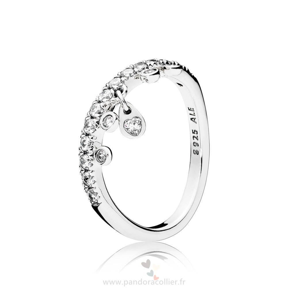 Promotionnel Pandora Lustre Gouttes Bague
