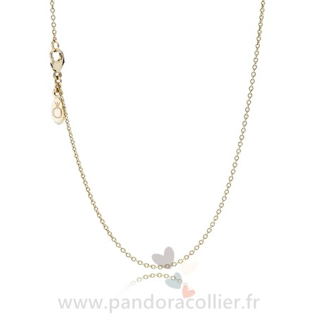 Promotionnel Pandora Pandora Chaines Collier Chaine 14K Or