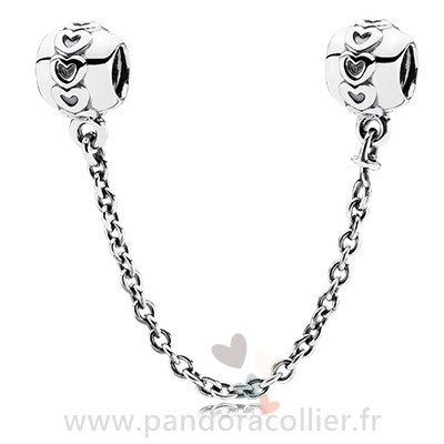 Promotionnel Pandora Pandora Chaines De Securite Amour Connection Safety Chain