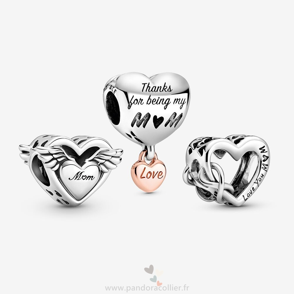 Promotionnel Pandora A Mother Love Charm Pack