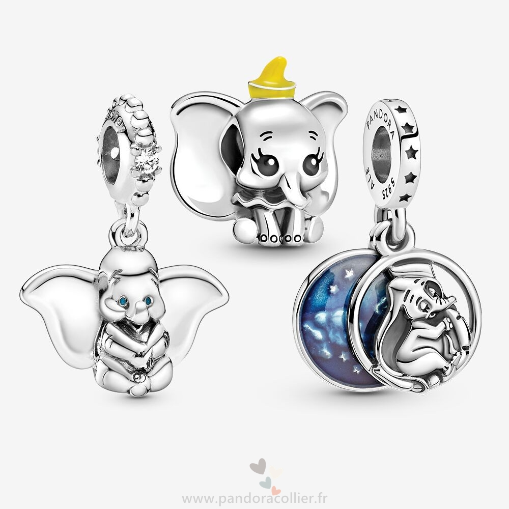 Promotionnel Pandora Disney Dumbo Sweet Dreams Charm Pack