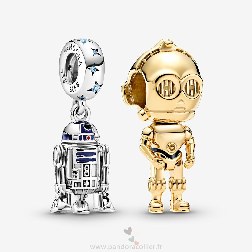 Promotionnel Pandora Disney Star Wars Droid Charm Pack