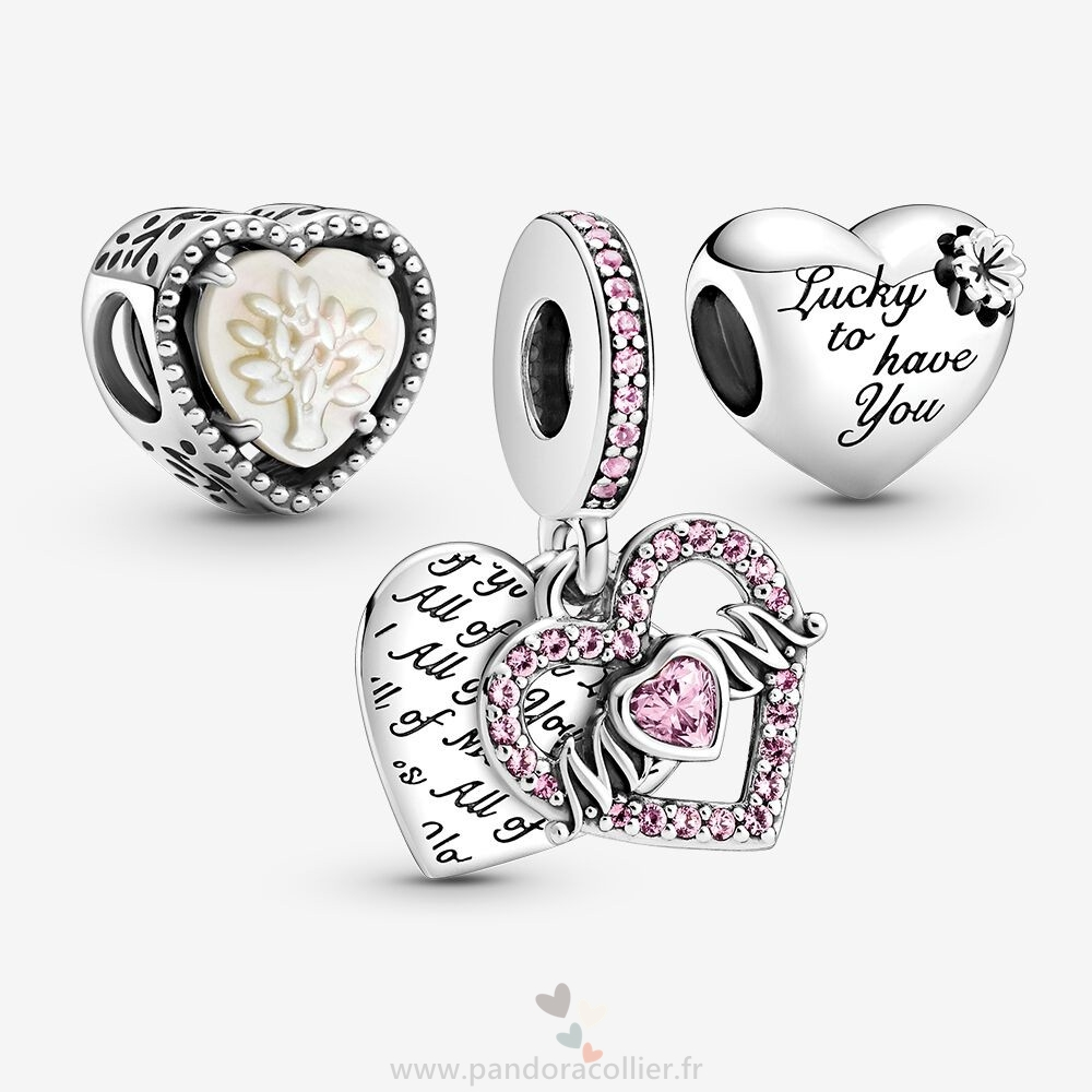 Promotionnel Pandora Symbols Of Love Charm Pack