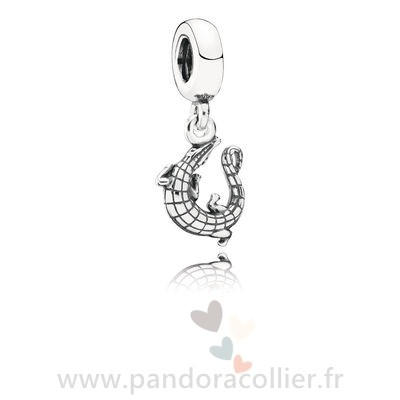 Promotionnel Pandora Alligator Pendant Charm
