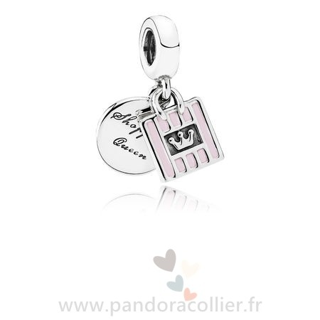 Promotionnel Pandora Pandora Passions Charms Chic Glamour Achats Queen Dangle Charm Soft Rose Email