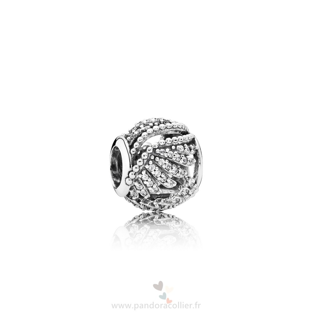 Promotionnel Pandora Pandora Passions Charms Chic Glamour Majestic Plumes Clear Cz