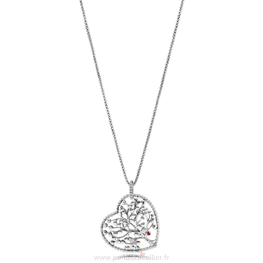 Promotionnel Pandora Arbre De Amour Collier Mixteemail