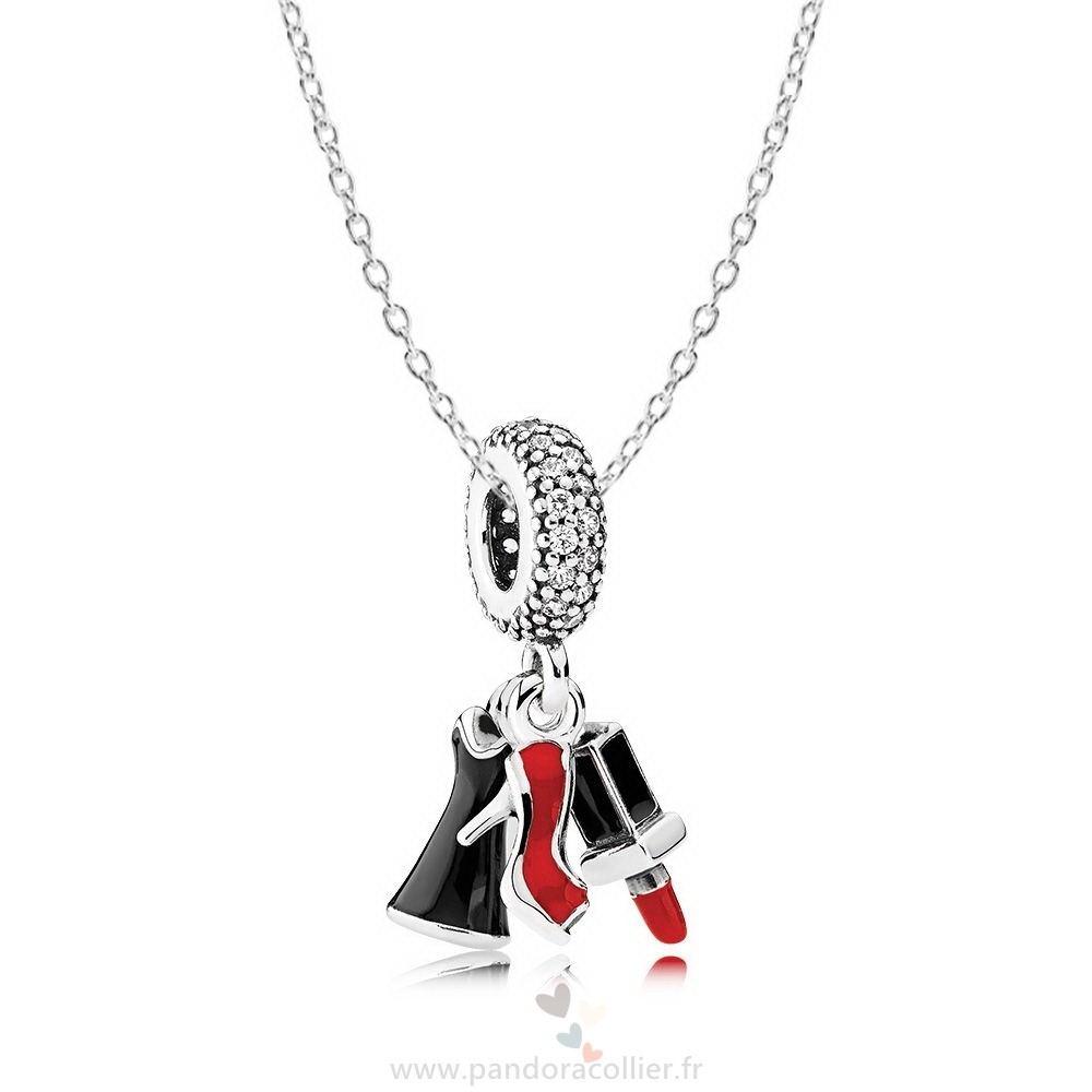 Promotionnel Pandora Filles Night Out Collier