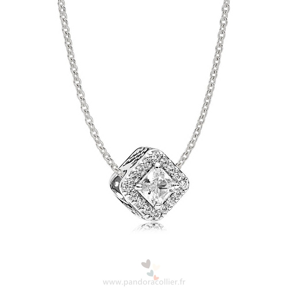 Promotionnel Pandora Geometric Radiance Collier Cadeau Set