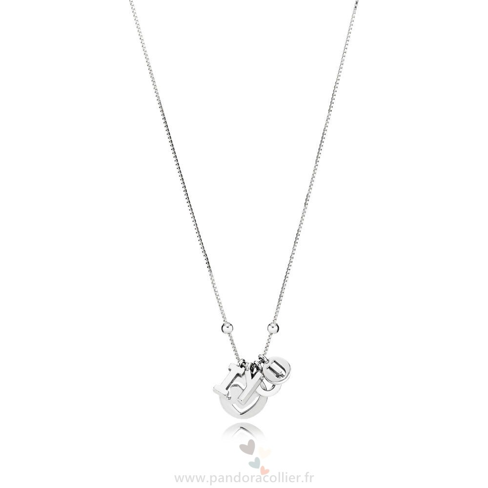 Promotionnel Pandora Je T'Aime Collier