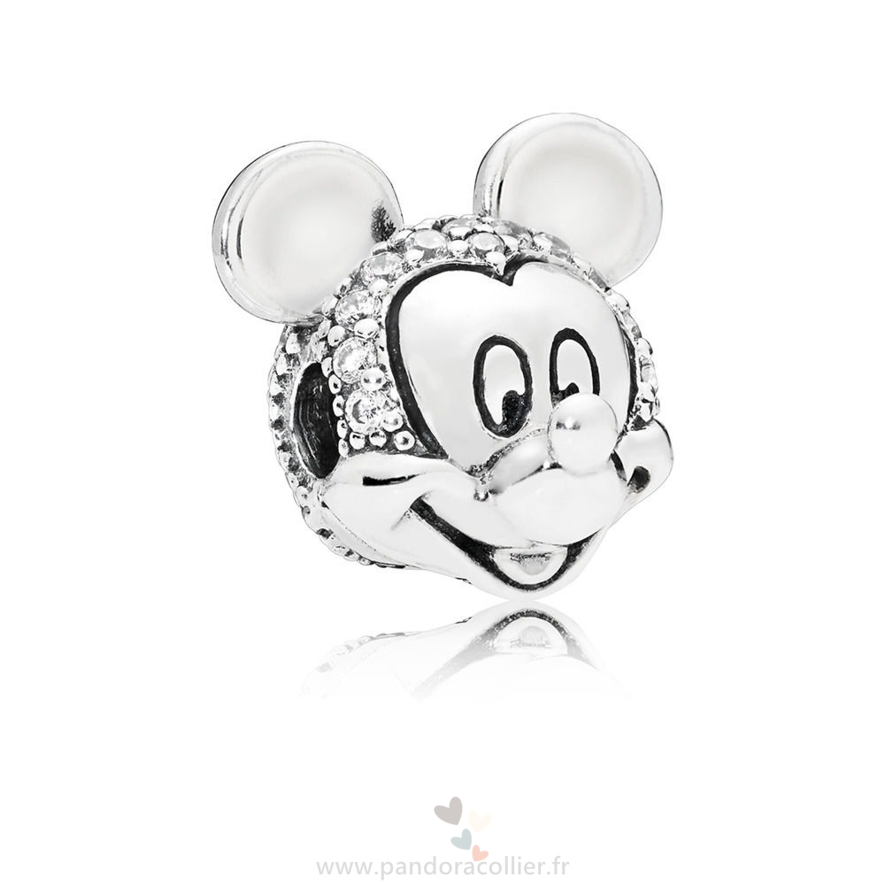 Promotionnel Pandora Clip Disney, Portrait De Mickey Scintillant