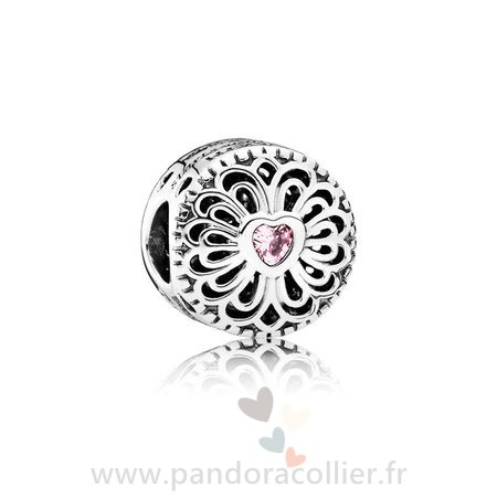Promotionnel Pandora Amis Amour Amitie Rose Cz