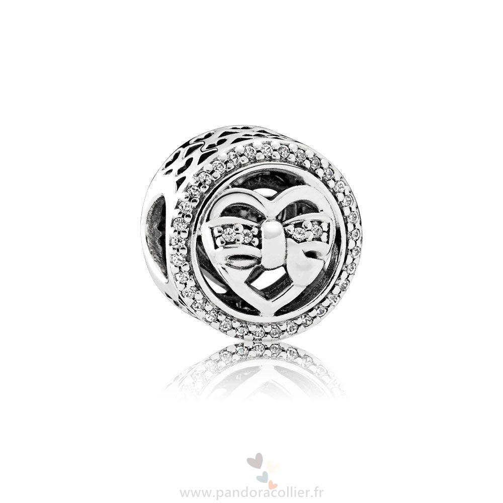 Promotionnel Pandora Amis Charms Aimants Charme Clear Cz