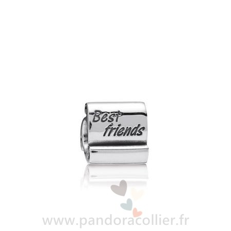 Promotionnel Pandora Amis Charms Meilleur Amis Scroll Charme