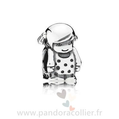 Promotionnel Pandora Charm Fille Precieuse