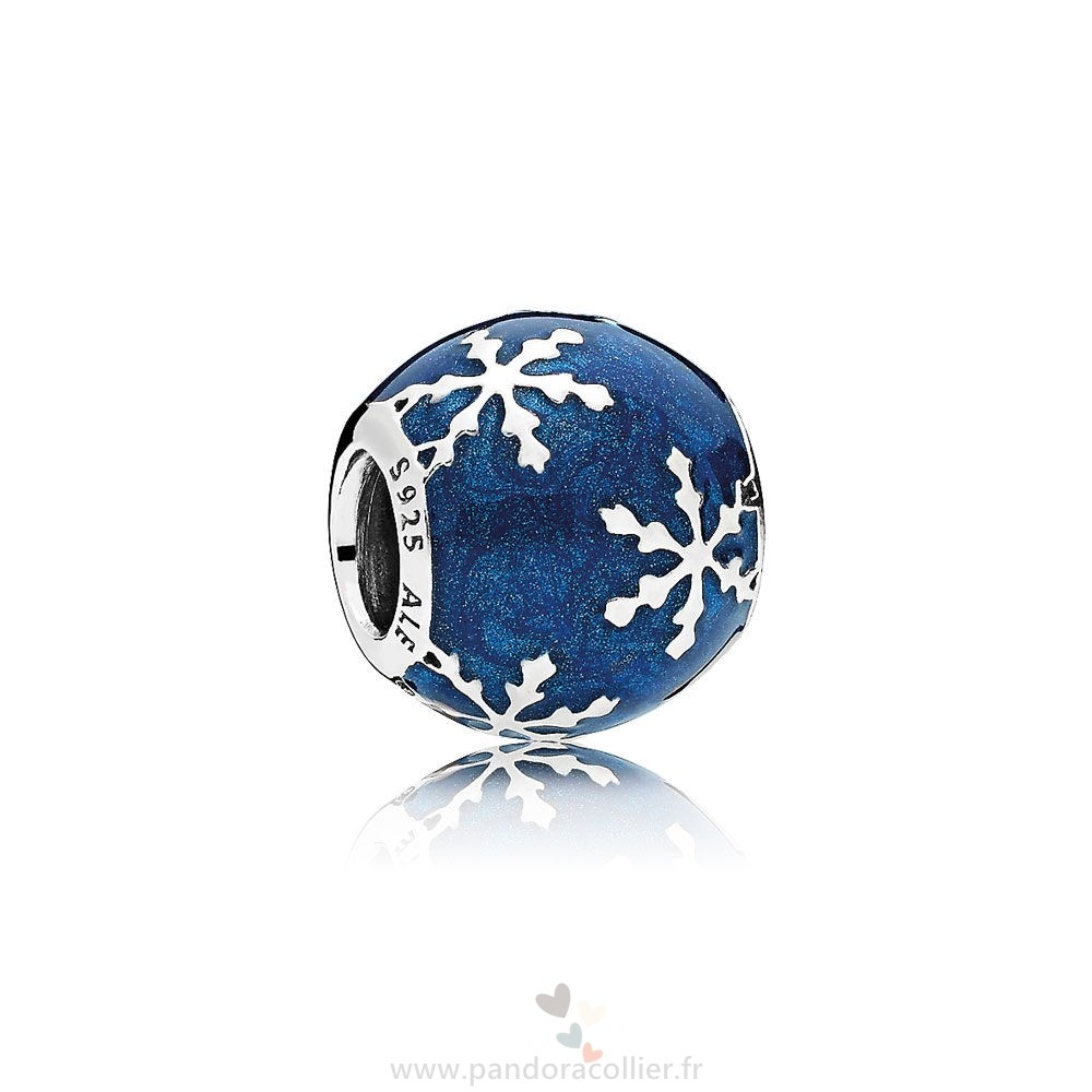 Promotionnel Pandora Nature Charms Charme Delice Midnight Blue Enamel