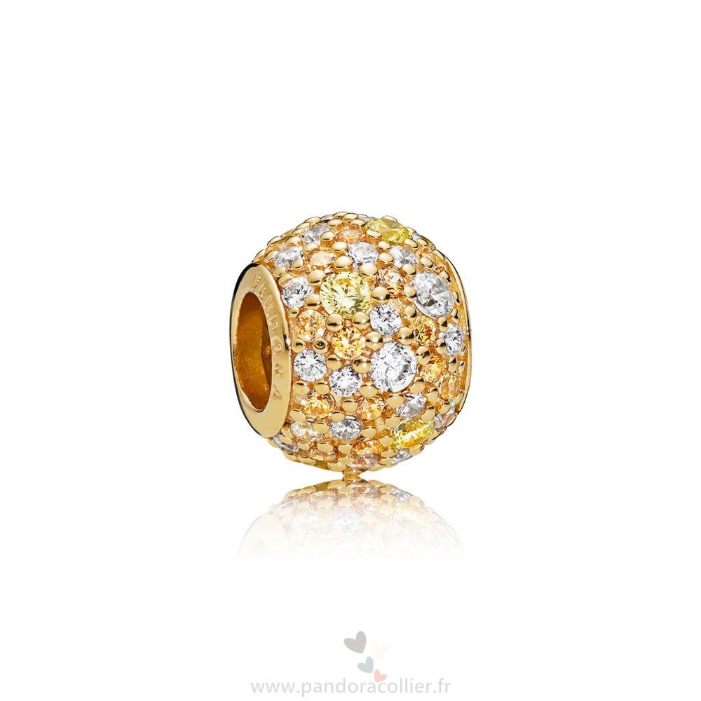 Promotionnel Pandora Pandora Shine D'Or Pavé Ball Charm