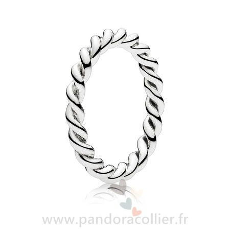 Promotionnel Pandora Anneaux Bague Empilable Twist Empilable