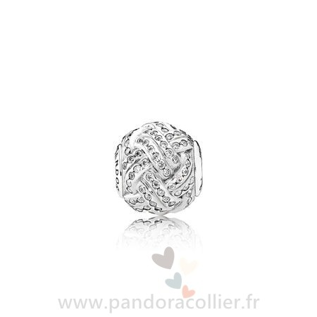 Promotionnel Pandora Essence Friendship Charme Clear Cz
