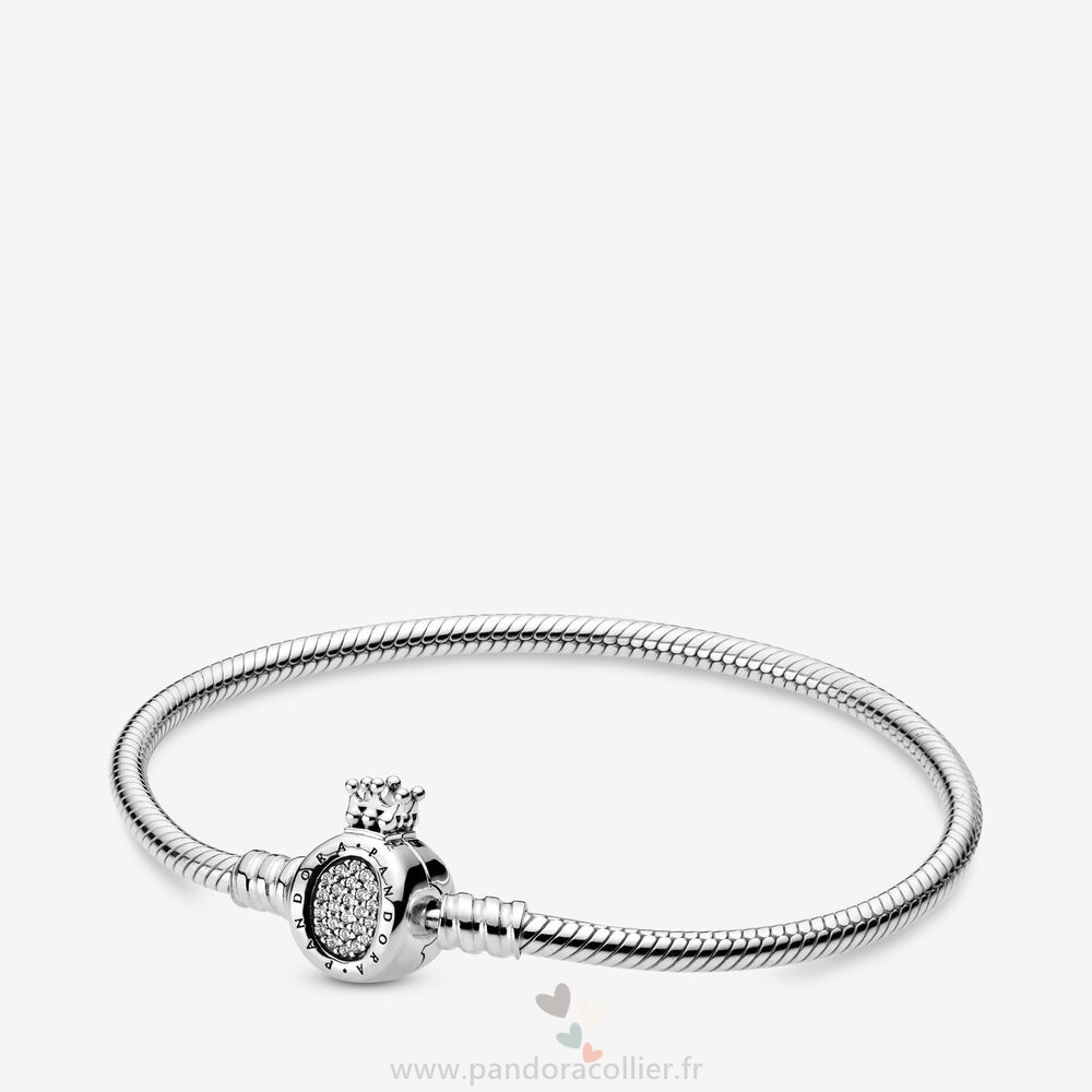 Promotionnel Pandora Pandora Des Moments Couronne O Et Serpent Bracelets