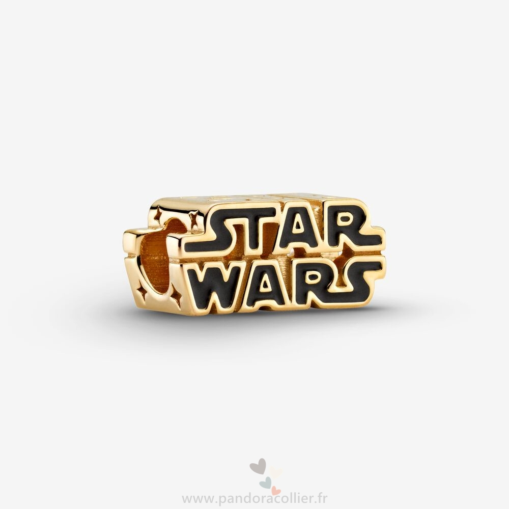 Promotionnel Pandora Breloque Avec Logo 3D Brillant Star Wars Édition Collector