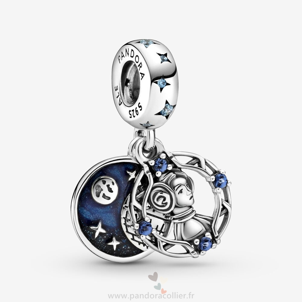 Promotionnel Pandora Breloque Double Pendentif Princesse Leia Star Wars