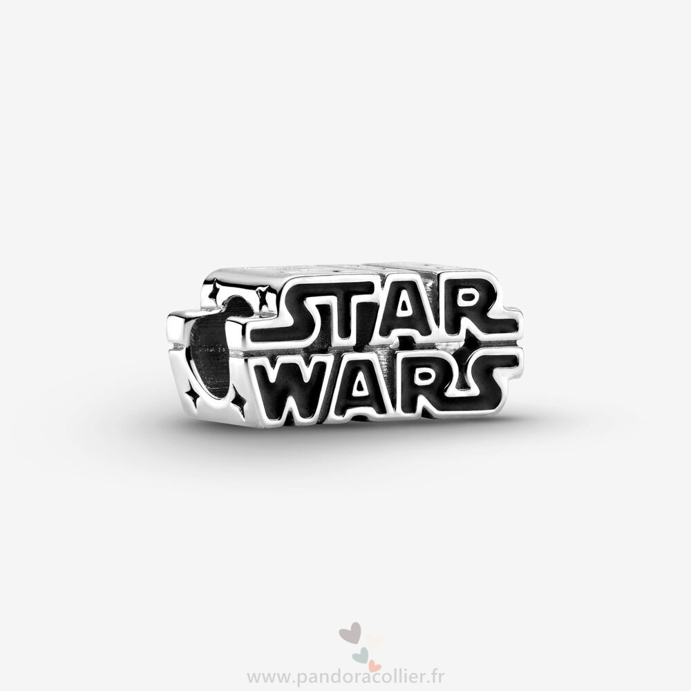Promotionnel Pandora Breloque Logo 3D Star Wars En Argent