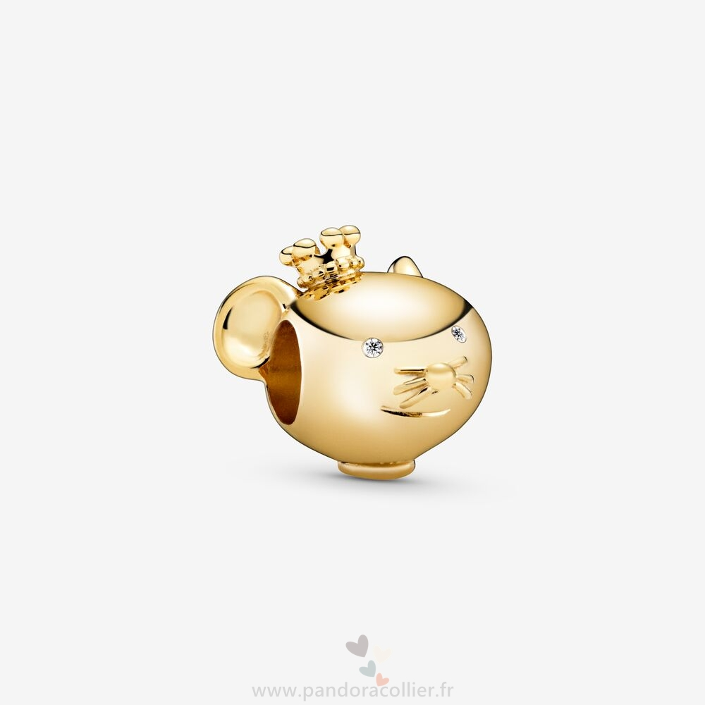 Promotionnel Pandora Charm De Rat Brillant